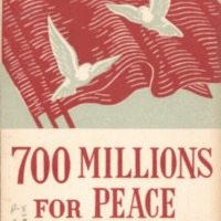 700 millions for peace and democracy.