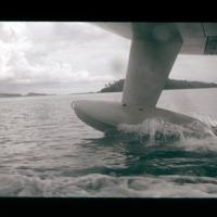 Water landing at Ponape. [2nd shot]
