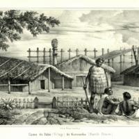 Cases du Paha (Village) de Kororareka (Nouvelle…