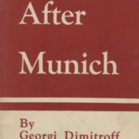 After Munich: the united front of the international…
