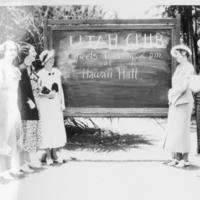[052] UTAH CLUB Sign