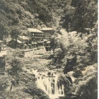Postcard: Tenkame (Tengame) Hotel, Fushimi Waterfall…