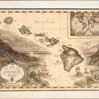 Map of the Sandwich Isles : Captain James Cook, 1728 -…