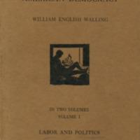 American Labor and American Democracy Volume I