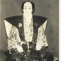 Kaizawa 1-037: Kabuki actor - Onoe, Shoroku II,  尾上, 松緑…