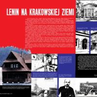 Lenin na Krakowskiej Ziemi