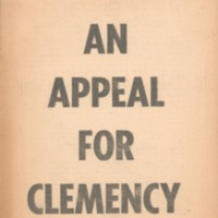 Appeal for clemency