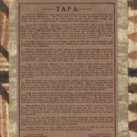 Page 80: About Tapa