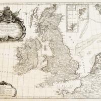 Les isles Britanniques comprenant les royaumes…