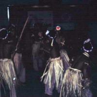 Trukese stick dancing. Mar. 1951