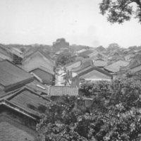 823. Lingnan : village from Luk Yau Tang