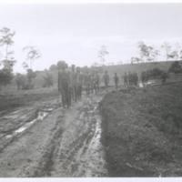 Natives returning from rubber plantations. Koitaki. '43
