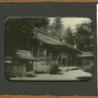 Nagare-zukuri style (Kamo-mioya-jinja Honden)