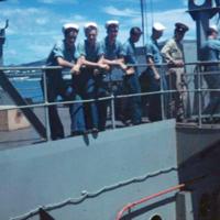 Walls, Matthews & Collett off for Pearl Harbor (1)…