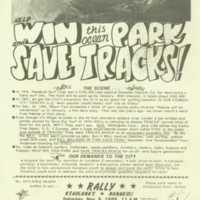 Help win this ocean park and save Tracks!
