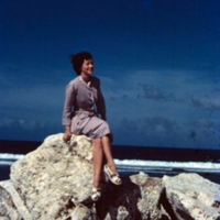 Breakwater. Guam  Dec. 1949