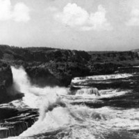 Northwest shore of Saipan, 1946. (N-4093.08).
