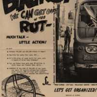 Bikers! We can get out of this rut - much talk - little…