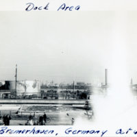 Dock area in Bremerhaven, Germany