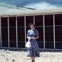 Breakers Club, Asan, Guam. 22 Jan. 1950