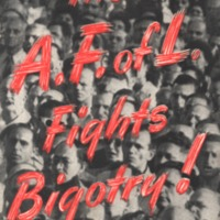A. F. of L. fights bigotry!