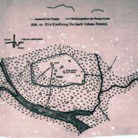 Abb.10. Die Siedlung Oa (nach Cabeza Pereiro)