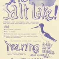 Save Salt Lake!