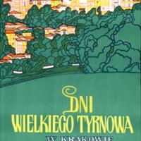 Dni Wielkiego Tyrnowa w Krakowie 21-27.V.1973