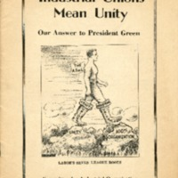 Industrial unions mean unity: our answer to president…