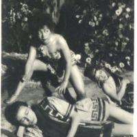 Kaizawa 3-032: Image of three Toho actors (2 female,…