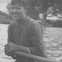 116a.  Sampan Rower, Pearl River