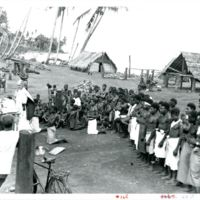The first Christian service is held on Cape Gloucester…