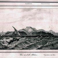 Vue de l' ile Peliou