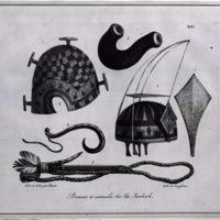 Bonnets et ustensils des Iles Sandwich