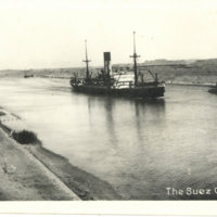 Postcard: The Suez Canal, Egypt