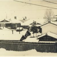 Kaizawa 2-018: Snow in Kyoto-- taken from Kyoto Counter…