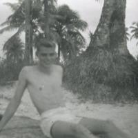 Eddie Crawford - Tumon Bay, Guam, M.I. Oct. 1949.
