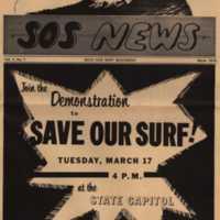SOS News Vol. 1, No. 1