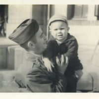 Kaizawa 3-023: Image of an American soldier carrying a…