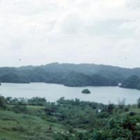 View of gorgeous lagoon opp. Harper's. Koror, [Palau],…