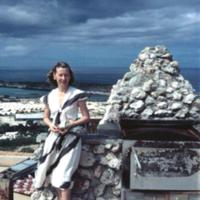 Jan West. Builder's Club. Guam. Jan. 1950