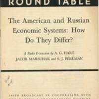 American and Russian economic system: how do they…
