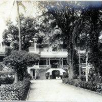 Royal Hawaiian Hotel, original wooden structure