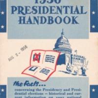 1956 presidential handbook