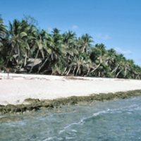 Beach on Satawal - 12