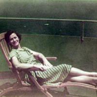 Margo, aboard Gen'l W.A. Mann. SF-Guam.