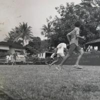 Boys playing at Kalihi Pumping Station