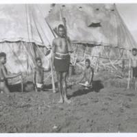 Natives at 2/2 CCS, clearing mud. Koitaki. N.G. '43