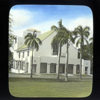 Dillingham Hall, Oahu College (now Punahou School)