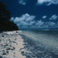 Beach on Satawal - 02